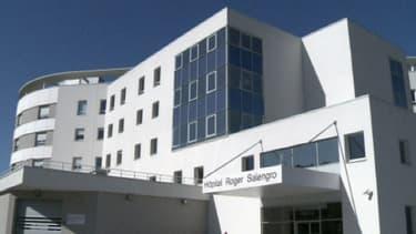 L'hôpital Roger Salangro à Lille le 9 mai 2013.
