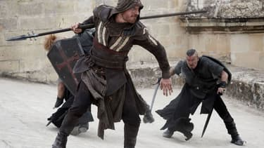 "Michael Fassbender dans ""Assassin's Creed""."
