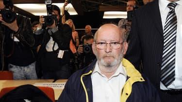Jean-Claude Mas, à l'ouverture de son procès à Marseille, le 17 avril dernier.