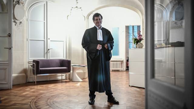 L'avocat Didier Seban dans son cabinet parisien, le 17 janvier 2020.