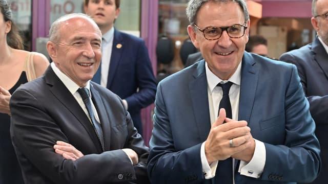 David Kimelfeld avec Gérard Collomb