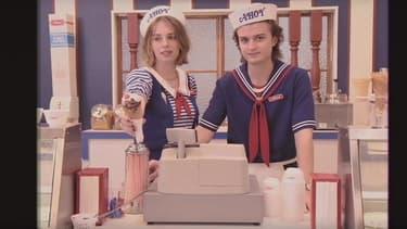 """L'étrange teaser de """"Stranger Things"""" troisième saison, en forme de publicité pour une galerie marchande."""