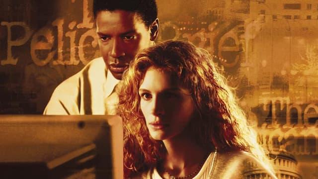 """Denzel Washington et Julia Roberts sur l'affiche de """"L'Affaire Pélican"""""""