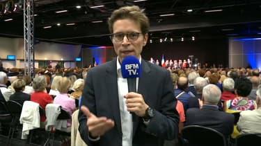 Geoffroy Didier mercredi soir, sur BFMTV.