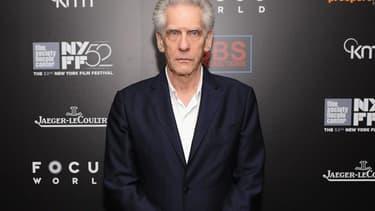 Le réalisateur David Cronenberg, en 2014 à New York