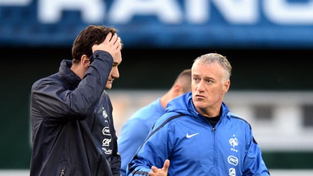 Didier Deschamps et Hugo Lloris