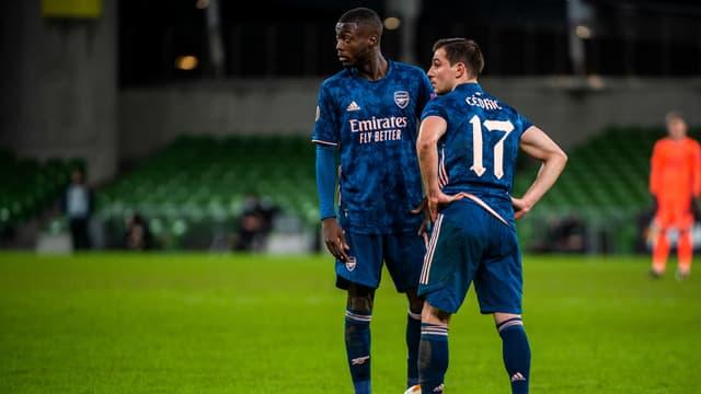 Nicolas Pépé & Cédric Soares - Arsenal