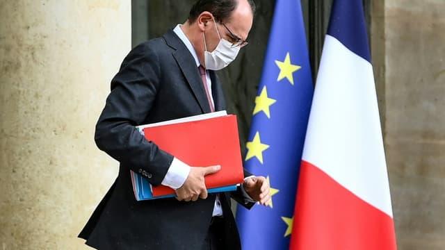 Le Premier ministre Jean Castex à l'Elysée le 19 mai 2021