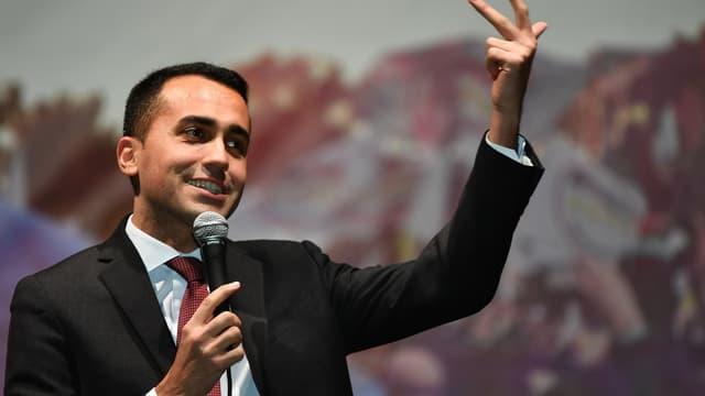 le leader du Mouvement 5 étoiles, Luigi Di Maio.