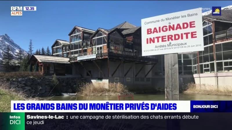 Hautes-Alpes: l'appel à l'aide des Grands Bains du Monêtier