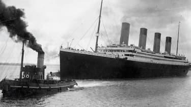 Le Titanic, en avril 1912