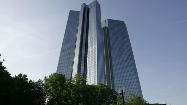 Nouveau dossier judiciaire pour Deutsche Bank