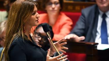 Marlène Schiappa à l'Assemblée nationale, le 10 septembre 2019
