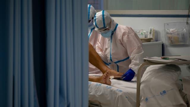 Les visites sont suspendues à l'hôpital de Roubaix (photo d'illustration)