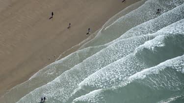 La plage de Calais - Image d'illustration