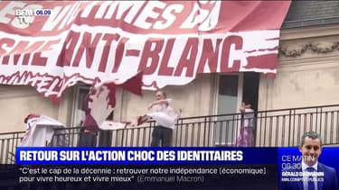 """Retour sur l'action du  groupuscule """"génération identitaire"""""""