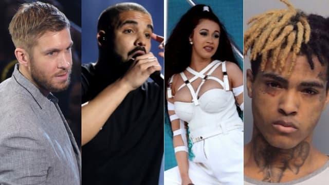 Les artistes les plus écoutés sur Spotify