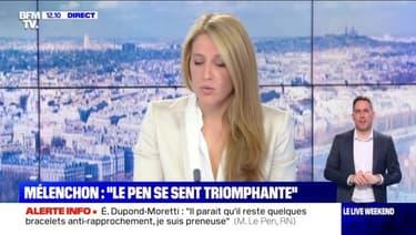 """Mélenchon : """"Le Pen se sent triomphante"""" - 08/05"""