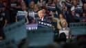 Donald Trump lors d'un meeting dans le Michigan, le 4 mars.