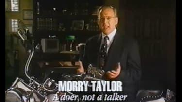 Le patron de Titan, Maurice Taylor, ici dans un spot de campagne, semble savoir comment gérer son entreprise mais aussi les Etats.
