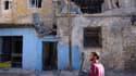 Bâtiments endommagés par les combats à Homs, en Syrie. De plus en plus de civils syriens sont contraints de fuir de chez eux face à la propagation des combats entre l'armée syrienne et les insurgés, selon le Comité international de la Croix-Rouge (CICR).