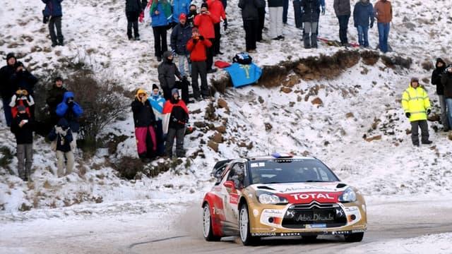Sébastien Loeb survole les débats sur la neige monégasque