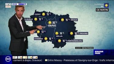 Météo Paris-Ile de France du 13 juillet: Ciel bleu ce matin