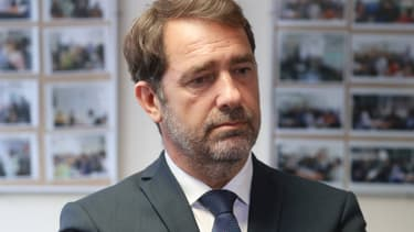 Christophe Castaner à Evry, le 9 juin 2020