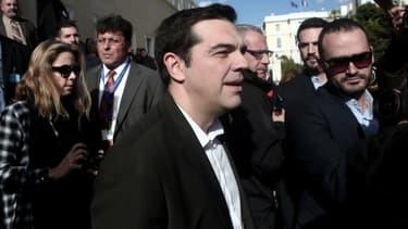 Le leader de Syriza Alexis Tsipras veut remettre en question la politique d'austérité imposée par les créanciers du pays.