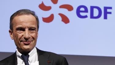 """Le patron d'EDF, Henri Proglio, prépare déjà la """"prochaine étape""""."""