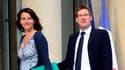 Cécile Duflot et Pascal Canfin, les ministres EELV du gouvernement.