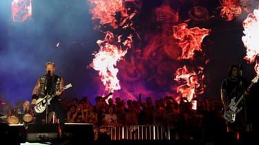 Metallica en concert le 20 septembre 2015 à Rio de Janeiro