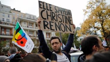Près de 300 personnes ont défilé ce samedi pour rendre hommage à Christine Renon.