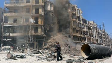 Alep, dans le nord de la Syrie.