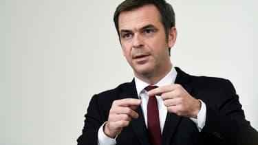 Olivier Veran, lors d'une conférence de presse le 19 novembre 2020 à Paris. (Photo d'illustration)