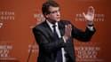 Arnaud Montebourg a donné une conférence à Princeton lundi 23 février.