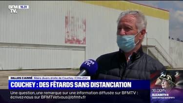 """Gilles Carré, maire DVD de Couchey sur la fête clandestine: """"On était très surpris que ça se passe ici"""""""