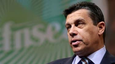 Xavier Beulin, président de la FNSEA