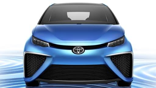 Le concept-car FCV de Toyota fonctionnera avec une pile à hydrogène.