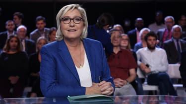 Marine Le Pen sur France 2.