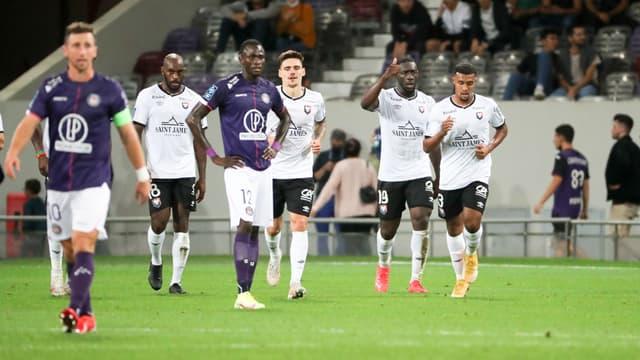 Caen s'est imposé à Toulouse