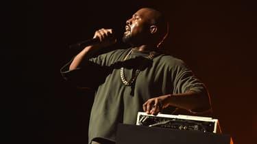 Kanye West sur scène en septembre 2015 à Las Vegas
