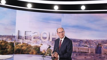 Jean Castex sur le plateau de TF1, le 3 juillet 2020
