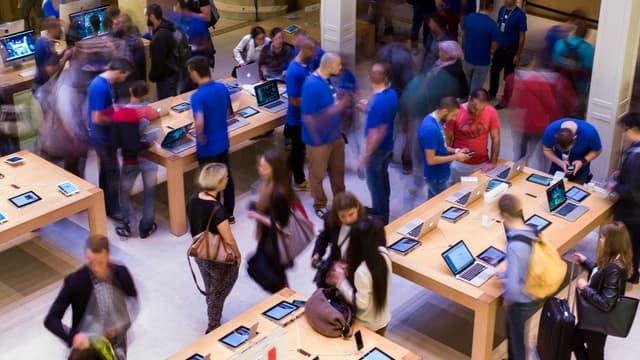 Apple compte une vingtaine d'Apple Store en France