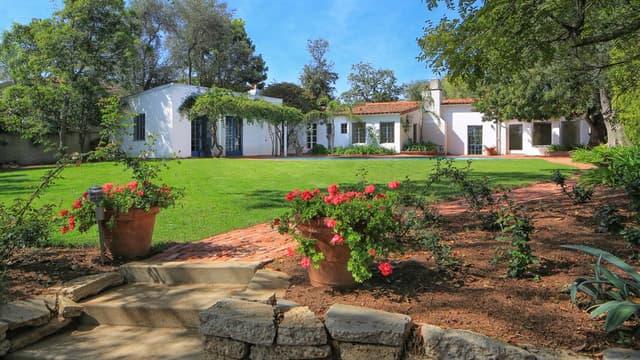 Marylin Monroe a acheté cette maison en 1962.