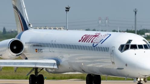 Swiftair prête des avions à d'autres compagnies.