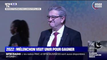 Présidentielle: Jean-Luc Mélenchon veut croire en la victoire