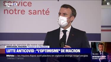 """Lutte contre le coronavirus: pour Emmanuel Macron, """"on a tout pour réussir en France"""""""