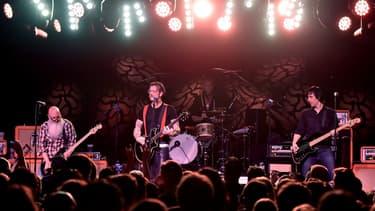 Eagles of Death Metal, le 13 novembre au Bataclan, juste avant l'attaque terroriste.