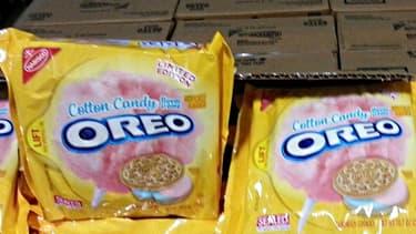 Oreo serait tout près de commercialiser une version de ses biscuits à la barbe à papa.